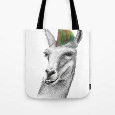 Llamahawk Tote Bag