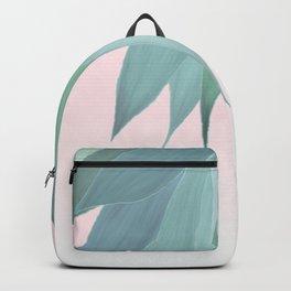 Delicate Agave Fringe Illustration Backpack