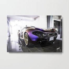 McLaren P1 - Cerberus Pearl - Rear Angle Left Metal Print