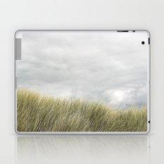 Beach grass and clouds Laptop & iPad Skin