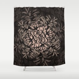 Pine Cones Pattern I Shower Curtain