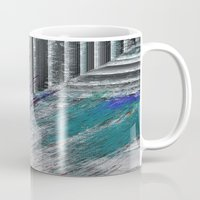 data Mugs featuring Data by MonsterBrown