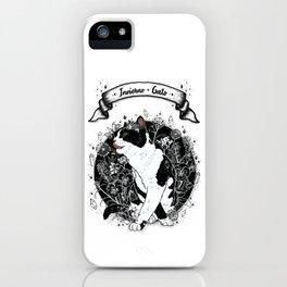 Invierno de Gato iPhone Case
