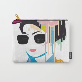 A geisha with sunglasses Carry-All Pouch