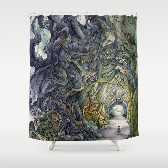 Only They Pronounce My Name Shower Curtain By Farynhughes Society6