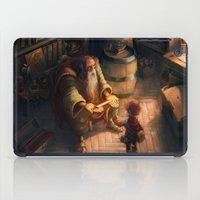 sword iPad Cases featuring Cursed Sword by Dani Diez