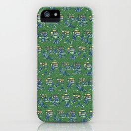 Let's Go Shopping at Night! – Xmas Edition iPhone Case