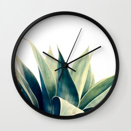 Botanical cactus I Wall Clock