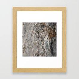 Coast of Maine Rocks, No.3 Framed Art Print