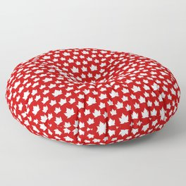 Cute Canada Flag Pattern Floor Pillow