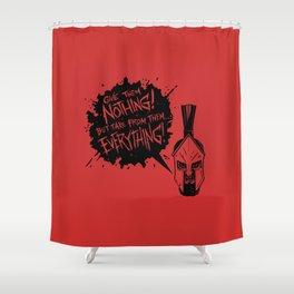 Leonidas Shower Curtain