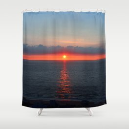 Deauville Vibes Shower Curtain