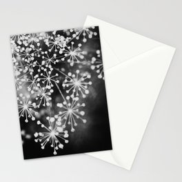 Dill In Black and White Stationery Cards