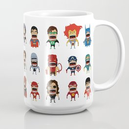 Screaming Heroes Coffee Mug