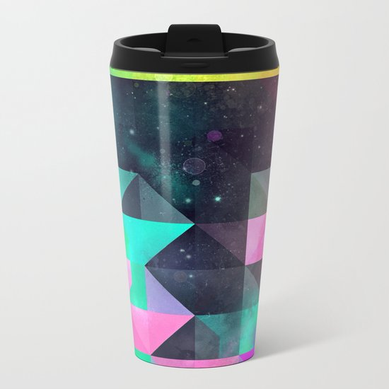 hyppy f'xn rysylyxxn Metal Travel Mug