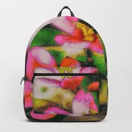 Flowers - Pink Splash Backpack