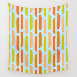 Colorful Skateboard Pattern Wall Tapestry