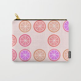Pink Juicy Fruit Slices Carry-All Pouch