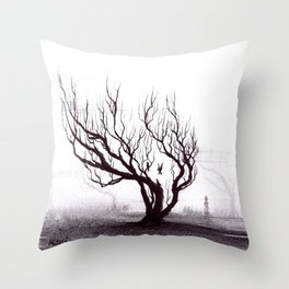Three for a Girl Throw Pillow