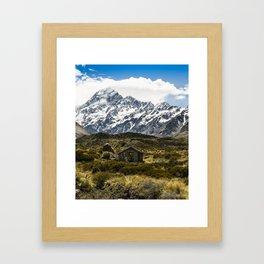 Hooker Valley Framed Art Print