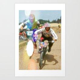 s&m bikes racer Art Print