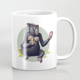 Gorilla thinks Coffee Mug