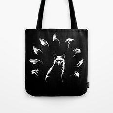 Nine-Tailed Fox, Kitsune Tote Bag
