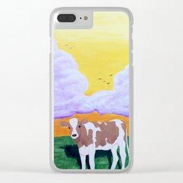 Alberta in Solitude Clear iPhone Case