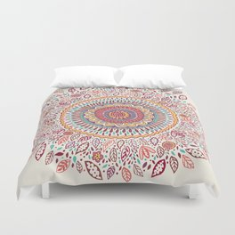 Sunflower Mandala Duvet Cover
