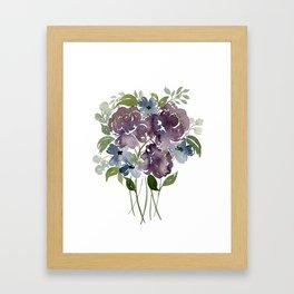 Purple Bliss Framed Art Print