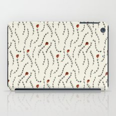 Red Roses Pattern iPad Case