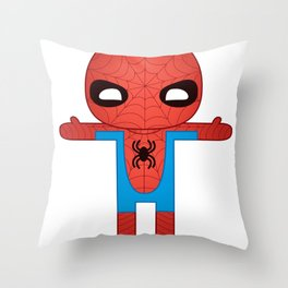 SPIDER MAN ROBOTIC Throw Pillow