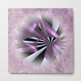 Les fleurs de la mathématique -11- Metal Print