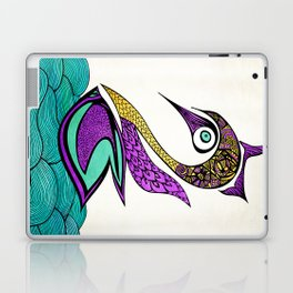 Mystic Swan Laptop & iPad Skin