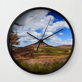 Roseberry Panorama Wall Clock