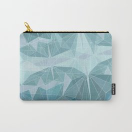 Geometric style winter triangles Carry-All Pouch