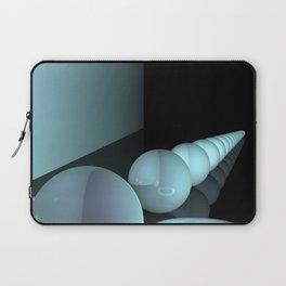 turquoise geometry Laptop Sleeve