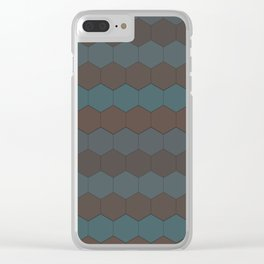 Hexagon 1.0 Clear iPhone Case