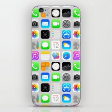 Phone Apps (Flat design) iPhone Skin