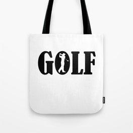 Golf sport Tote Bag