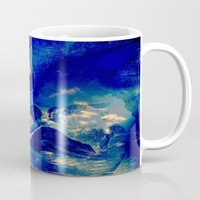 angels Mugs featuring angels by  Agostino Lo Coco