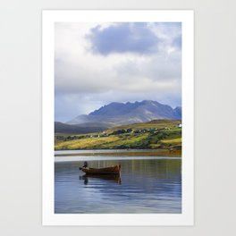 Loch Harport and the Cuillins Art Print