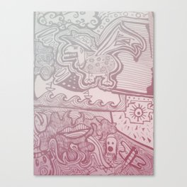 Middle Canvas Print