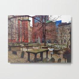 Granary Burying Ground (2) Metal Print
