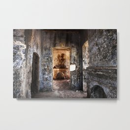 The Fire is gone Metal Print