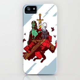 Red Right Hand & Friends iPhone Case