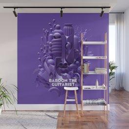 Baboon the Guitarist Wall Mural