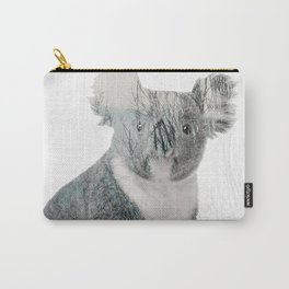 Double Exposure Autumn Koala Carry-All Pouch