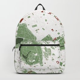 London city map minimal Backpack