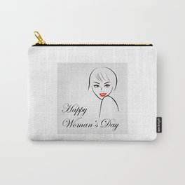 Happy womens day- she persisted gifts Carry-All Pouch